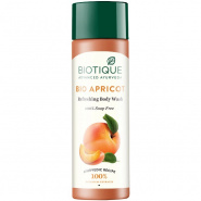 Bio Apricot Refreshing Body Wash 100% Soap Free Biotique