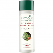 Bio Basil & Sandalwood Refreshing Body Powder Biotique