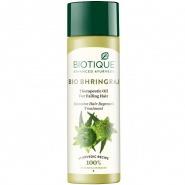 Bio Bhringraj Therapeutic oil Intensive Hair Regrowth Treatment Biotique