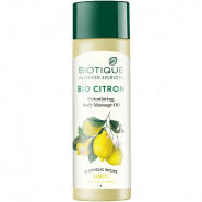 Bio Citron Stimulating Body Massage Oil Biotique
