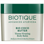 Bio Coco Butter Tissue Firming Body Balm Reduces Stretch Marks & Scars Biotique