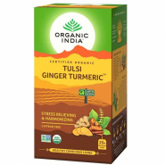 Tulsi Ginger Turmeric Tea Organic India