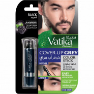 Cover-up Crey color stick Blackberry- Black for Men Dabur
