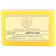 Herbal Saffron Soap Khadi
