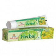 Herbal toothpaste (Fennel seed flavour) Baps Amrut