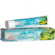 Herbal toothpaste (Mint Flavour) Baps Amrut