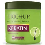 Hot oil treatment Keratin hair mask Trichup