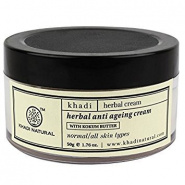 Herbal anti ageing cream with kokum butter Khadi
