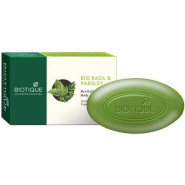 Bio Basil & Parsley Revitalizing Body Soap With Pure Fruit & Vegetable Extracts Biotique