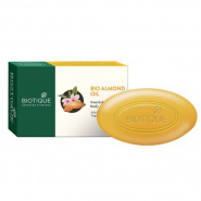 Bio Almond Nourishing Body Soap With Pure Fruit & Vegetable Extracts Biotique