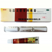 Ointment from hemorrhoids with musk