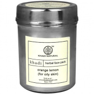 Orange & Lemon Face Mask for Oily Skin Khadi