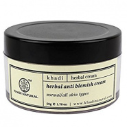 Herbal Anti Blemish Cream Khadi