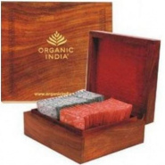 Deluxe Wooden Gift Box Organic India