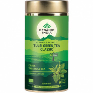 Tulsi Green Tea Classic Organic India \ Тули зеленый чай