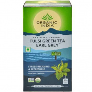 Tulsi Green Tea Earl Grey Organic India