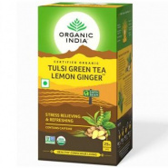 Tulsi Green Tea Lemon Ginger Organic India